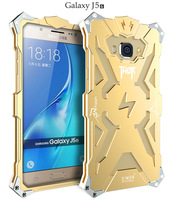 Simon Case For Samsung Galaxy J5 2016 THOR IRONMAN Shockproof Metal Back Cover Aluminium Frame Anti