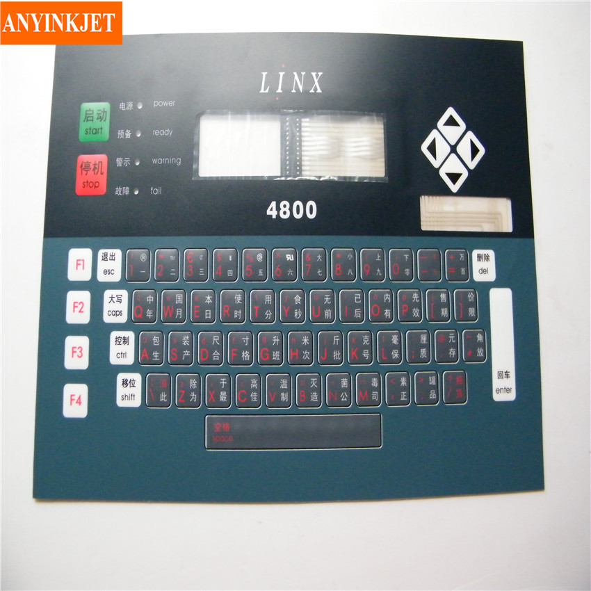 inkjet keyboard display for Linx 4800 inkjet printer цена