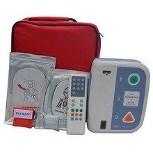 1 комплект, Автоматический Внешний Дефибриллятор + 2 шт., маска для CPR, тренировочная машина AED для оказания первой помощи на полировом и английском языках