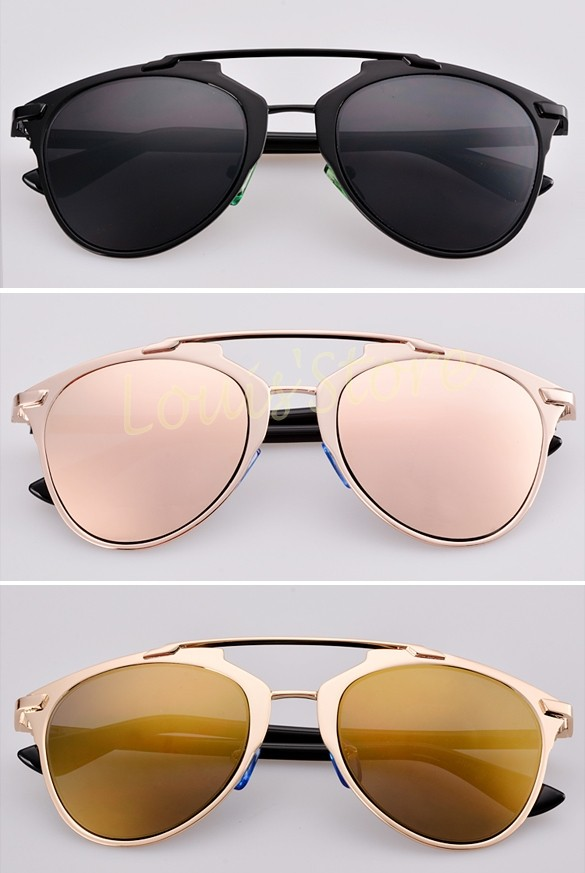 2998d9769e56 Fashion Summer Style Women Sunglasses Brand New Designer Lady Women s Retro  Dual Horizontal Beam Full Frame Sunglasses 36-in Women s Sunglasses from  Apparel ...