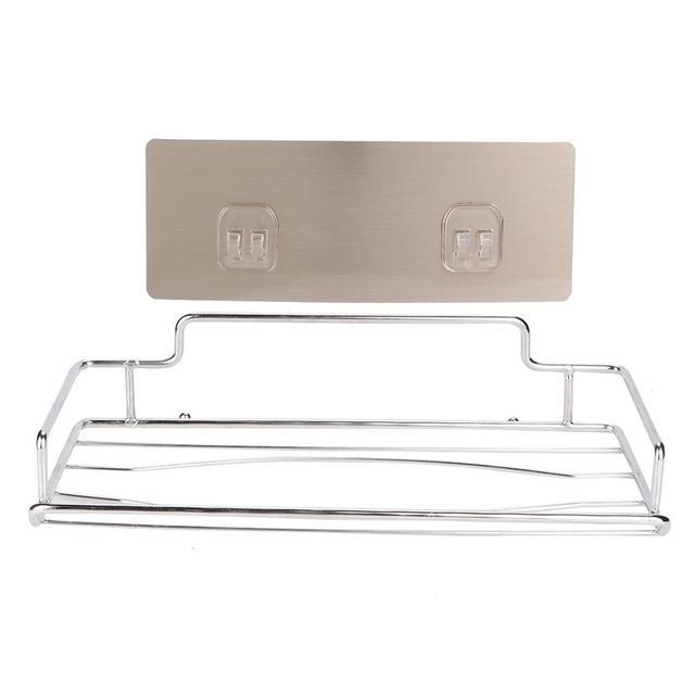 Aço inoxidável suporte do Papel Higiénico Titular Tecido Única Camada Armário Cabide Rack de Estande