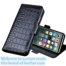 LS12 Genuine Leather Wallet Flip Phone Cover For Asus Zenfone 5 ZE620KL Case 5Z ZS620K