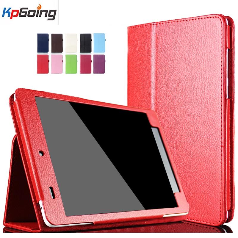 מוצק Business Case עבור Xiao Mi Pad 1 עבור Xiaomi Mipad 1 מעמד לעמוד עבור Xiaomi Mi Pad1 כיסוי יוקרה פליפ עור פו עבור Mipad1