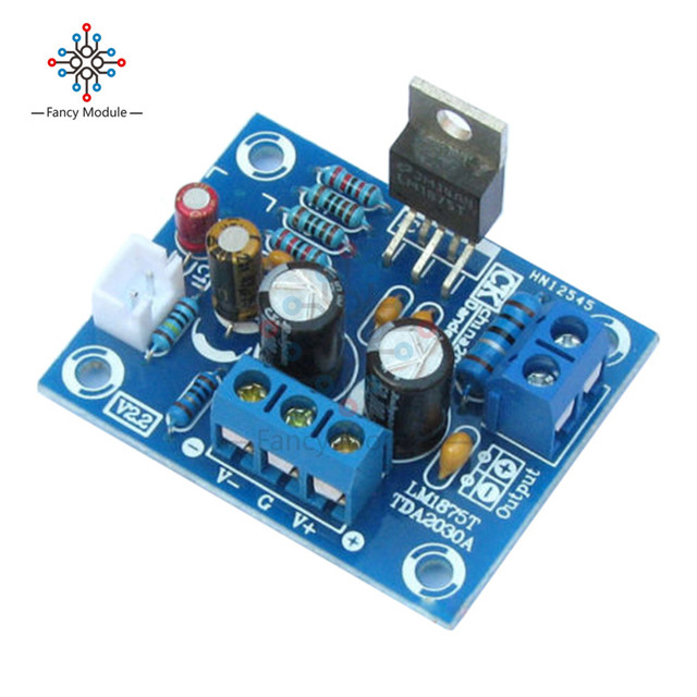 20 wát HIFI Mono Kênh LM1875T Stereo Board Khuếch Đại Âm Thanh Module DIY Kit
