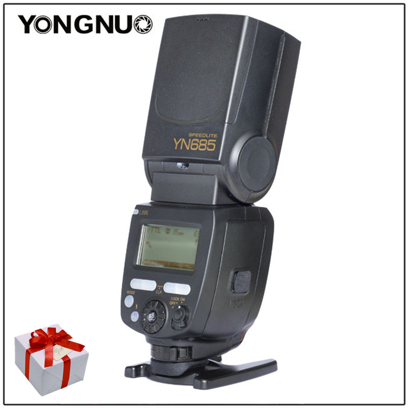 YONGNUO YN685 YN-685 Wireless 2.4G HSS TTL/iTTL Speedlite Flash For Canon For Nikon support YN560-TX RF605 RF603 YN685C YN685N yongnuo yn622c ii hss e ttl flash trigger for canon camera compatible with yn622c yn560 tx rf 603 ii rf 605