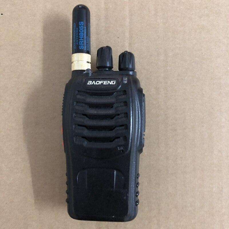 Image 3 - SRH805S antenna baofeng walkie talkie accessories sma f female antenna vhf uhf dual band antenna per baofeng uv 5r uv 888S-in Walkie Talkie from Cellphones & Telecommunications