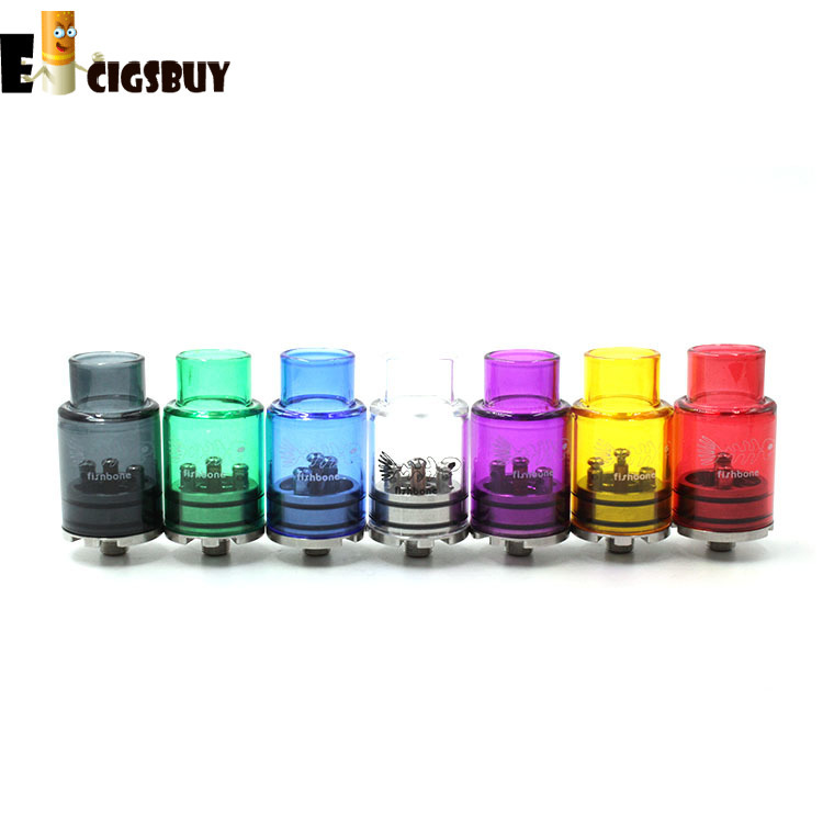 Fishbone RDA Atomizer Fish Bone Rebuildable Dripping Atomizer Fit 510 Mods
