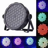 3W X 54 LED Bulb Par Light Sound Control Stage Effect Light Spotlight Lamp Professional Lighting