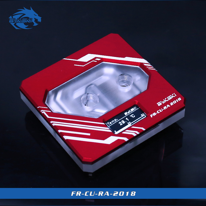 Bykski FR-CU-RA-2018, Temperature Digital Display Water Block , Intelligent Temperature Monitoring , For Inter Lga115x Cpu