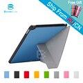 4 Форма для iPad Air 2 iPad 6 PU Смарт Стенд Чехол Кожаный SmartCover для iPad6 с Стилус как подарок