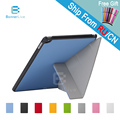 4Shape for iPad Air 2 iPad 6 PU Smart Stand Case Cover Leather SmartCover for iPad6 with Stylus Pen as Gift