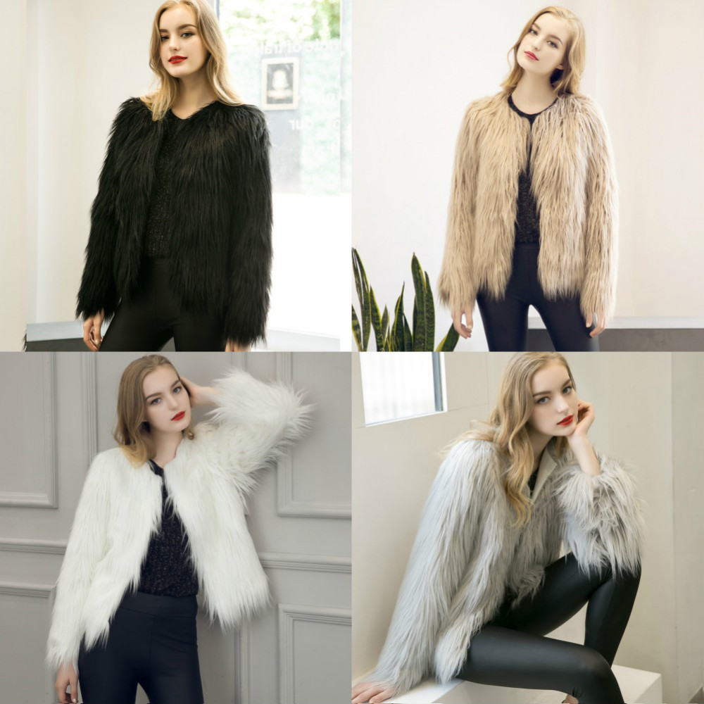 Chic Soft Faux Fur Coat 1