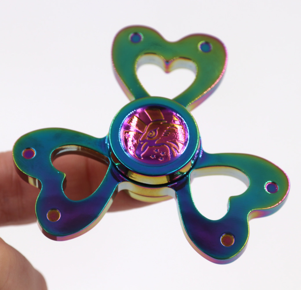 10pcs Butterfly Fidget Tri Spinner Toys Sensory Fidgets Autism ADHD Hand Spinner Anti Stress Funny Gifts