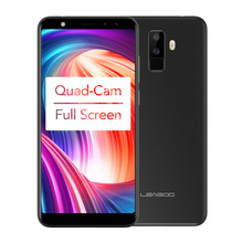 Full Screen Four-Cams Android 7.0 5.5″ Quad Core Fingerprint 3G Mobile Phone