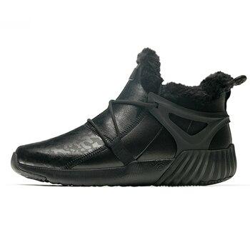 ONEMIX Winter Men's Boots Keep Warm Wool Trekking Sneakers Outdoor Unisex Mountain Waterproof Hiking Shoes Running Shoes for Man 10