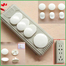 30 pcslot plastic plug decorative socket protection3 feet outlet coversbaby safety electric shock for kids security drop ship - Decorative Outlet Covers