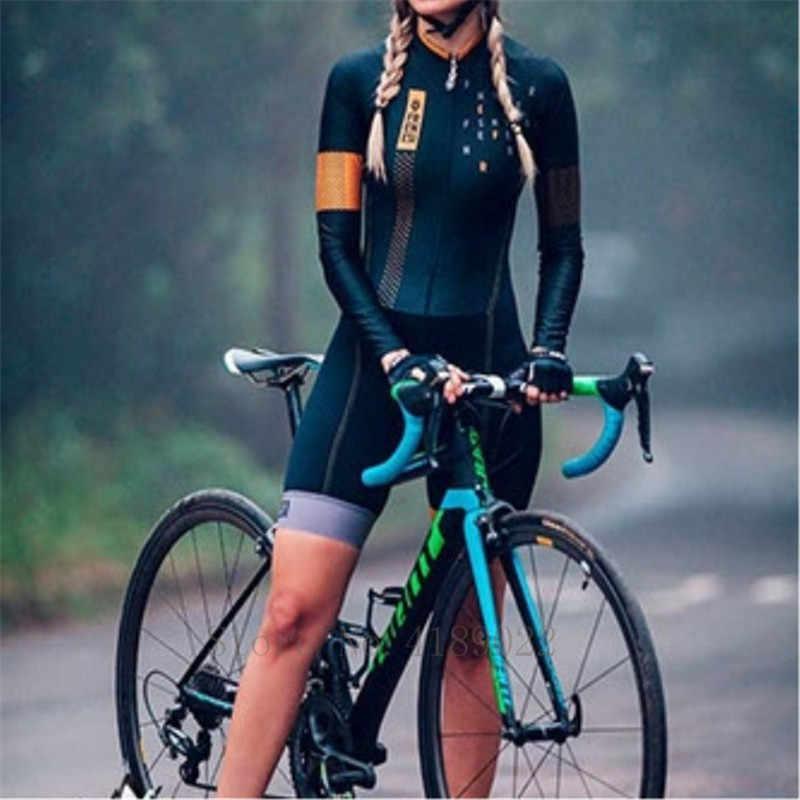 Wanita Triathlon Jumpsuit Memakai Lebih Baik Atas Tim Pro Aero Sepeda Pakaian Ciclismo Sepeda Tubuh Sesuai Kustom Bersepeda Skinsuit Baju Renang