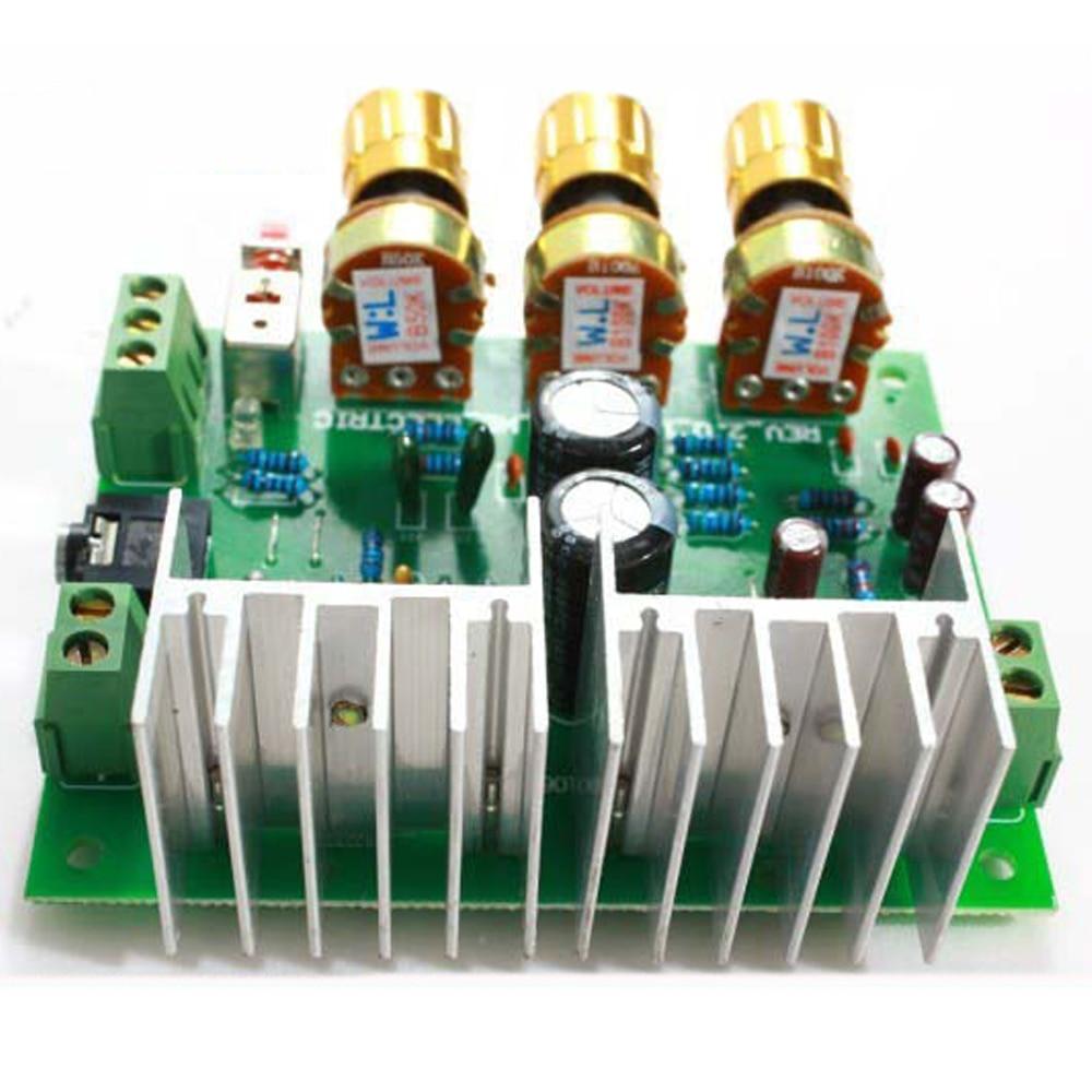 Free Shipping 12V 30W DIY TDA2030A Dual Track Power Amplifier Board Kit