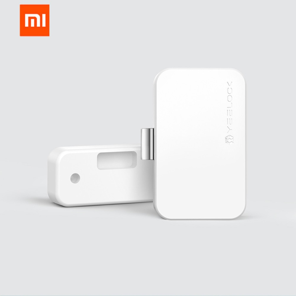 Original Xiaomi MIjia YEELOCK Smart Schublade Schrank Türschloss Keyless Bluetooth APP Entsperren Anti-Theft Kind Sicherheit Datei Sicherheit