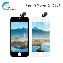 Фотография ET-Super  100PCS TOP AAA+ Quailty For iPhone 5 LCD Display Touch Screen Complete  Assembly For iPhone5 LCD Screen Free shipping