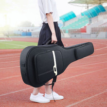 NEW 41 Inch  Folk Guitar Bag Carry Case Waterproof shockproof thicken folk acoustic guitar bags backpacks Double Shoulder Straps