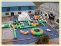 Бесплатная Доставка надувной аквапарк, надувные водные игры в продажу