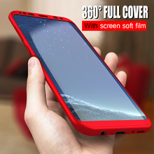 360 Full Cover Phone Case For Samsung Galaxy S8 Shockproof Fundas Capa