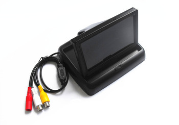 4.3 TFT LCD Car Rear View Reverse Color Camera Monitor Reversing DVD VCR CCTV image
