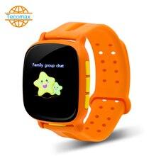 """Wifi kind smart uhr 1,3 """"TFT tracker uhr wasserdichte smartwatch GPS + LBS für kinder babys geschenk"""