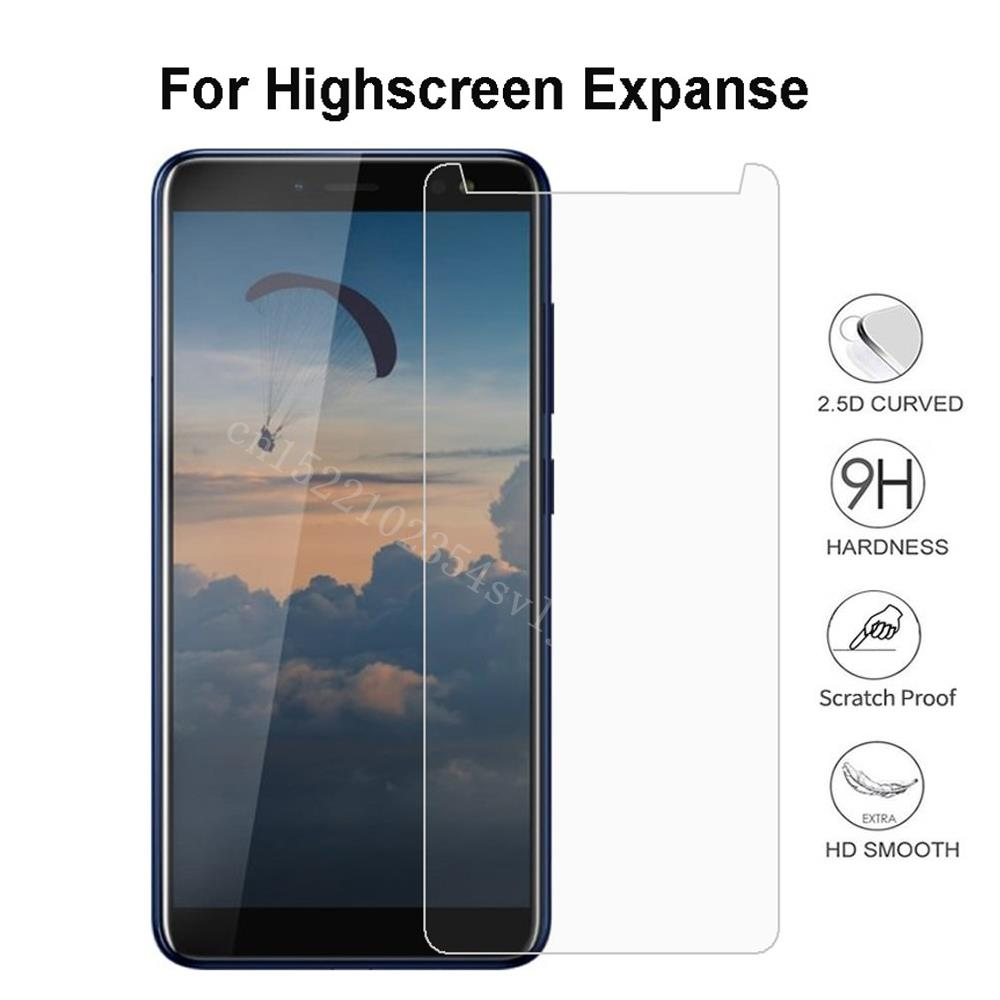 Smartphone Tempered Glass for Highscreen Expanse Explosion-proof Protective Film Screen Protector cover Q