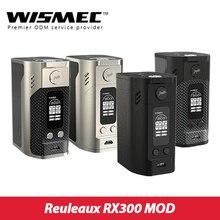 เดิม300วัตต์WISMEC Reuleaux RX300 TCกล่องสมัยwismec rx300สมัยVW/TCโหมดบุหรี่อิเล็กทรอนิกส์สมัยvs Rx2/3