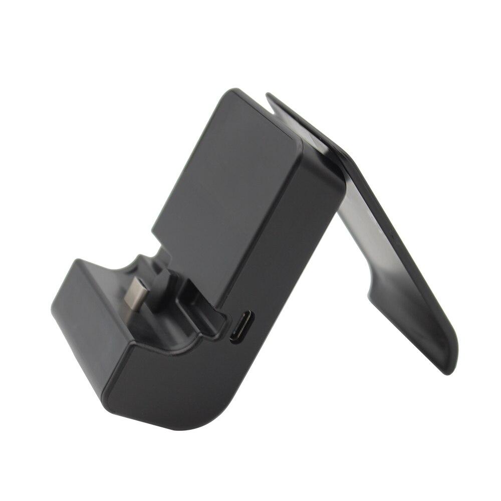 10 pièces un lot 2 en 1 support de charge USB type-c réglable rapidement chargeur pour Console n-switch