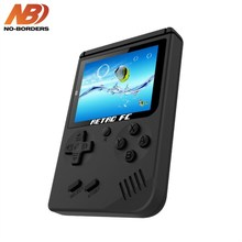 NO-BORDERS Retro Mini 2 Handheld Sport Console Emulator built-in 168 video games Video Video games FC Handheld Console Chlids Christmas items