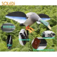 Plastic Yard Hunting Decoys Motor Driven Creative Hunting Duck Decoy Realistic Decor Duck Decoy Garden