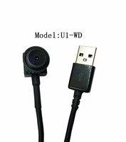 HD 720 P Gran Angular Mini USB Cámara de CCTV Con 3.6mm/1.8mm lente/3.7mm/2.8mm Lente de la cámara usb mini cámara web envío libre