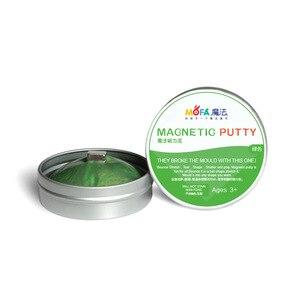 Image 3 - Playdough פלסטלינה חימר צעצועי בוץ גומי ילדים Diy מתנות מגנט מגנטית Ferrofluid