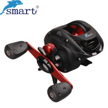Smart Baitcasting Reel 5+1 Bearing 6.2:1 Gear Ratio Right Left Hand Bait Casting Fishing Reel Carretilha Pesca Carp Fishing Gear