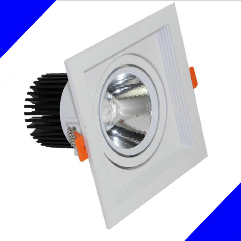 Wholesale 10PCS 10W 12W 15W COB  LED Ceiling lamps Downlights high power Cold white/warm white AC110-240V Free shipping/DHL 1w led bulbs high power 1w led lamp pure white warm white 110 120lm 30mil taiwan genesis chip free shipping