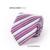 Recentes Poliéster Dos Homens do Laço de Seda Gravata Listrada Gravatas Marca Popular Casual Impressão Skinny Gravata Casamento Gravata Corbata