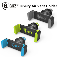 GKZ K1 Universal Air Vent Car Phone Holder Suporte Celular Carro for iPhone 4 4S 5 5S 6 Plus Samsung galaxy S4 S5 phone cradle