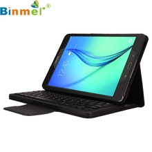 Binmer Mecall Bluetooth Keyboard Leather Case Stand For Samsung Galaxy Tab A 9.7 T550