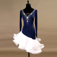 salsa latin dance dress women for competition tango latin dress for girls dancing dress for women Custom color size
