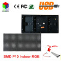 RGB P10 full color LED module for Advertising media LED Display  indoor 1/8 scan 320x160mm 32x16 pixel dots