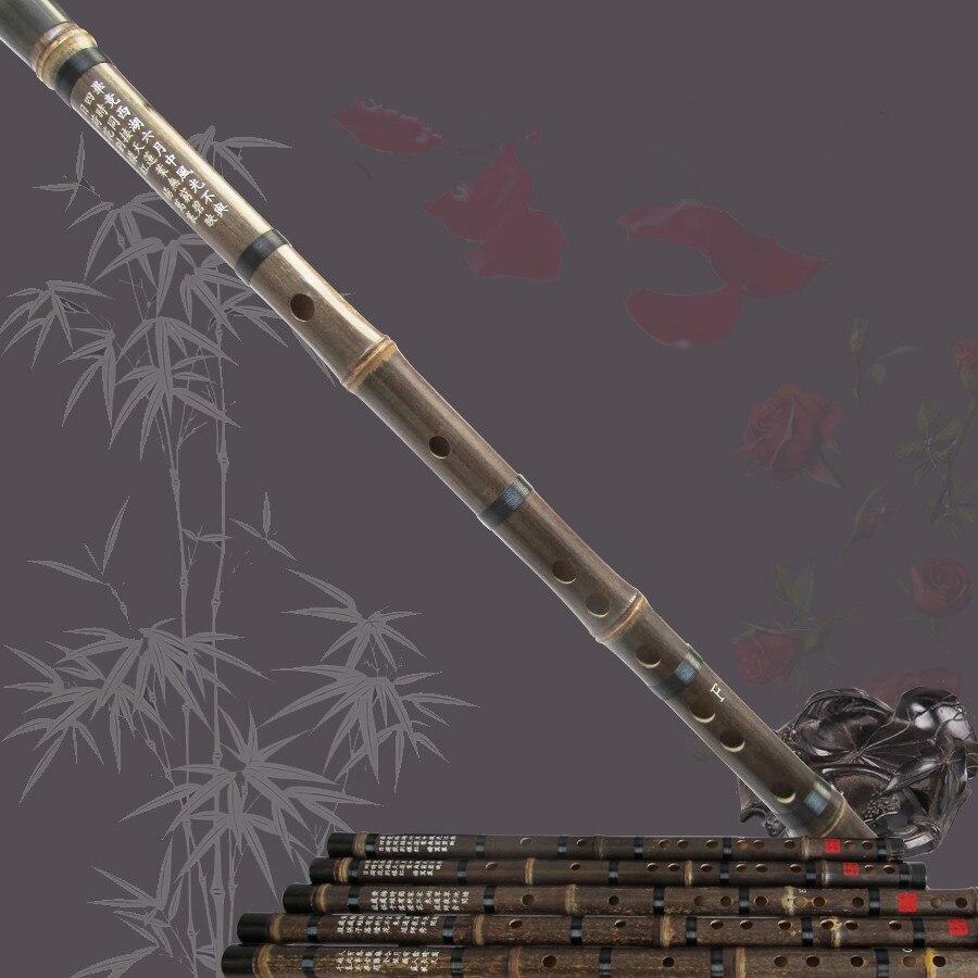 Envío libre Chino Dizi CDEFG flauta de bambú instrumento musical nacional Natura