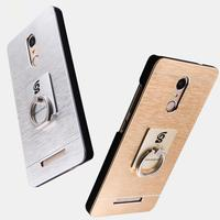 Newest For Xiaomi Redmi Note 3 Pro Case Luxury Brushed Metal PC Protective Back Cover For
