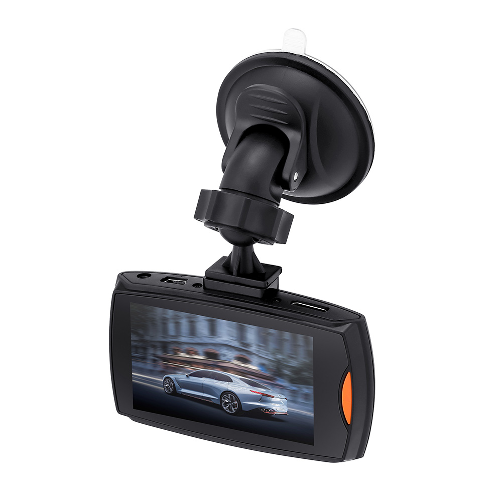 140 Wide-angle Car Recorder Full HD 1080P Dash Cam Loop Recorder Car DVR 6 fill lights Clear Night Vision Car Camera