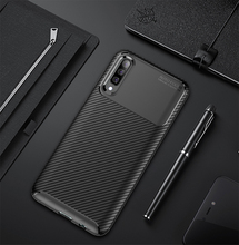 For Samsung Galaxy A50 A40 A70 Case Carbon Fiber Soft TPU Heavy ShockProof Silicone Case For Samsung A10 A30 A20 A60 Back Cover for samsung galaxy a70 case silicone anti slip carbon fiber soft tpu back cover for samsung a70 2019 case funda slim texture