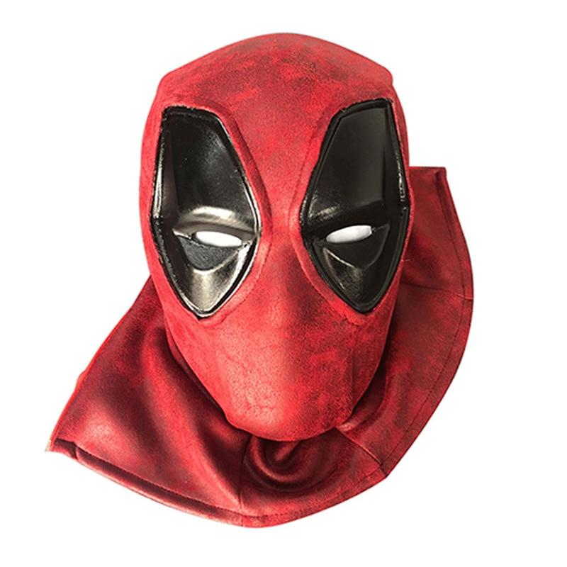 Cosplay Deadpool Mask EVA Full Head Helmet Deadpool Wade Winston Wilson Party Costume Masks Adult Men Funny Props Accessories