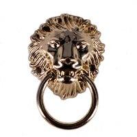 K486 DIY Gold Ring Leeuwenkop Charms Metalen Maken Hanger Naaien Tas Schoenen Kledingstuk Decoratieve Haken Klinknagels Claps Accessoires 20 ST
