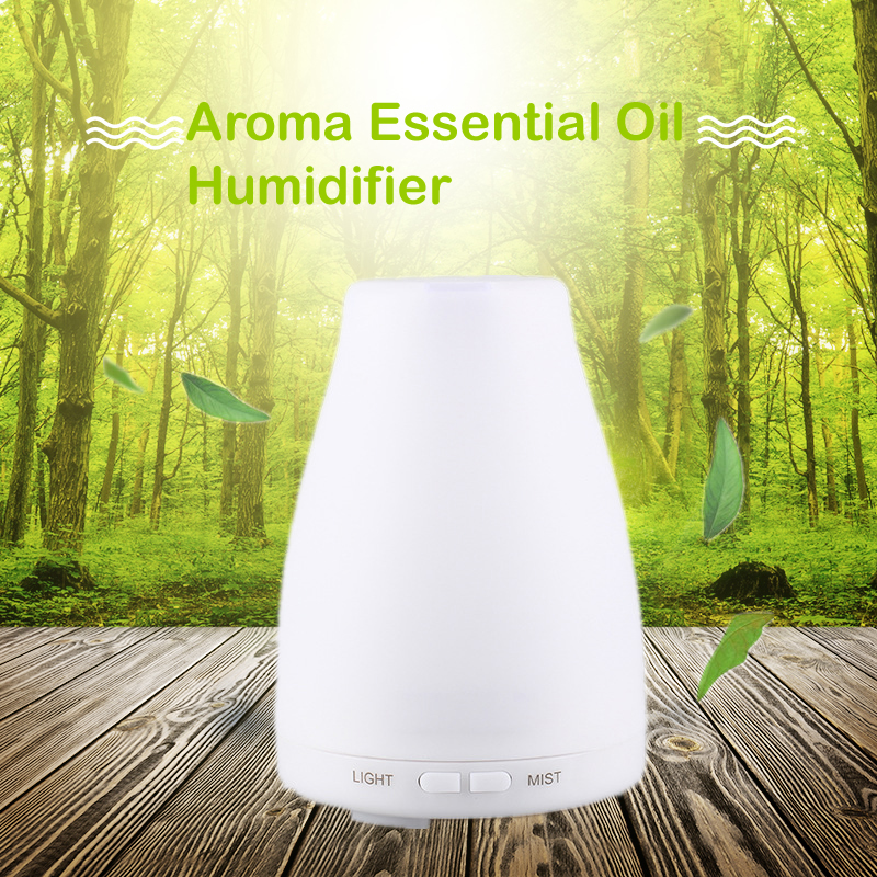 Ultrasonic Air Aroma Humidifier With Colorful Night Light Aromatherapy Essential Oil Diffuser  Mist Maker